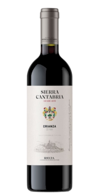 Red wine Sierra Cantabria Crianza 2010 (0,75)