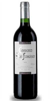 Red wine Convento de San Francisco Crianza 2013 (0,75)