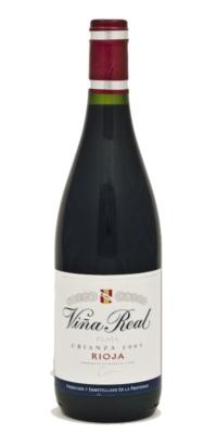 Red wine Viña Real Crianza 2014 (0,75)