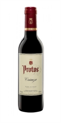 Red wine Protos Crianza 3/8 Halves