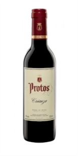 Red wine Protos Crianza 3/8 Halves