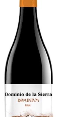 Vino tinto Dominium 12 meses Barrica Rufette 100% - Dominio de la Sierra