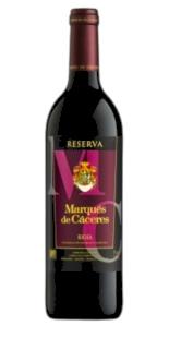 Vin rouge Marqués de Cáceres Reserva (0,75)