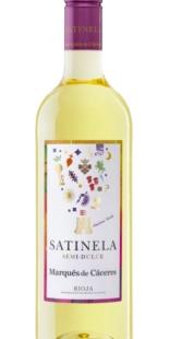 Semi-sweet wine Satinela Marqués de Cáceres (0,75)