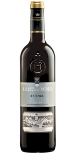Red wine Marqués de la Concordia Crianza