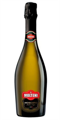 Moscato natural semi-sparkling white wine 0.7 Cl/Molteni