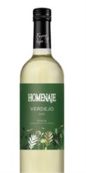 Vino blanco Verdejo Homenaje.