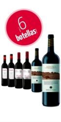 Selección de 6 botellas Ribera del Duero (2 de PradoRey Roble + 2 de PradoRey Crianza Finca Valdelayegua + 2 de Adaro edición especial)